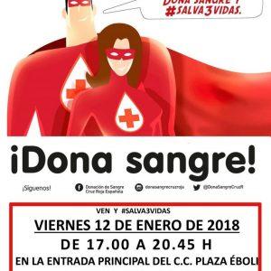 Nueva campaña de donación de sangre ¡Salva 3 vidas!