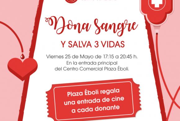 ¡Dona sangre en Plaza Éboli y disfruta del cine gratis!
