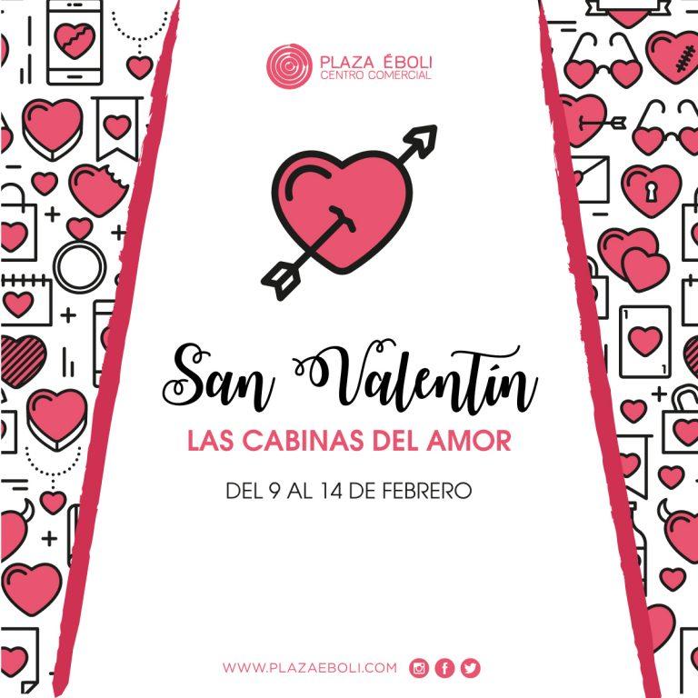 Este San Valentín en Plaza Éboli llegan las 'Cabinas del Amor'