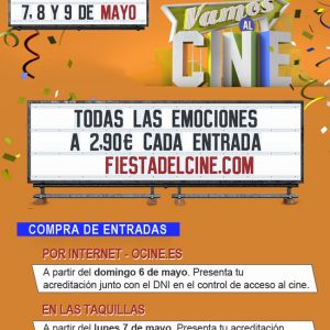 Fiesta del cine en Plaza Éboli