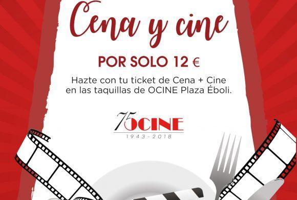 Cena y Cine por 12€