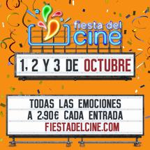 ¡Fiesta del Cine en octubre!