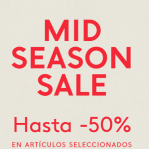 Mid Season Sale en Mango