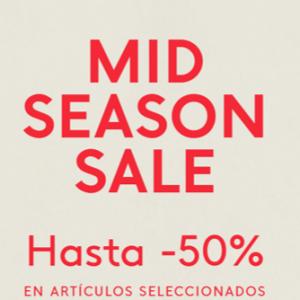 Mid Season Sale en Mango
