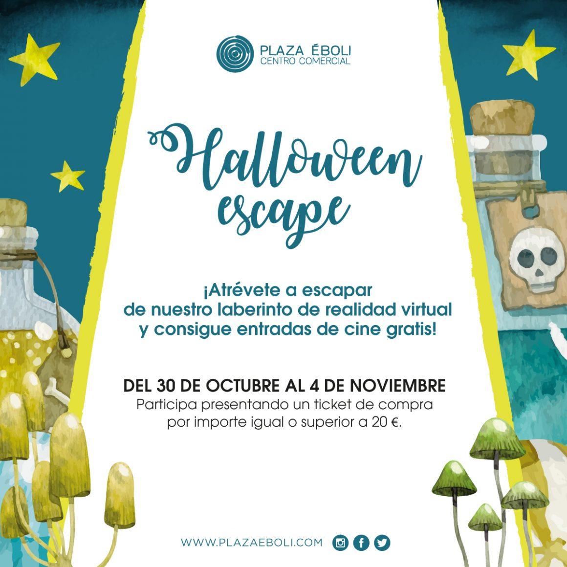 ¡Halloween escape!