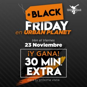 Black Friday en Urban Planet