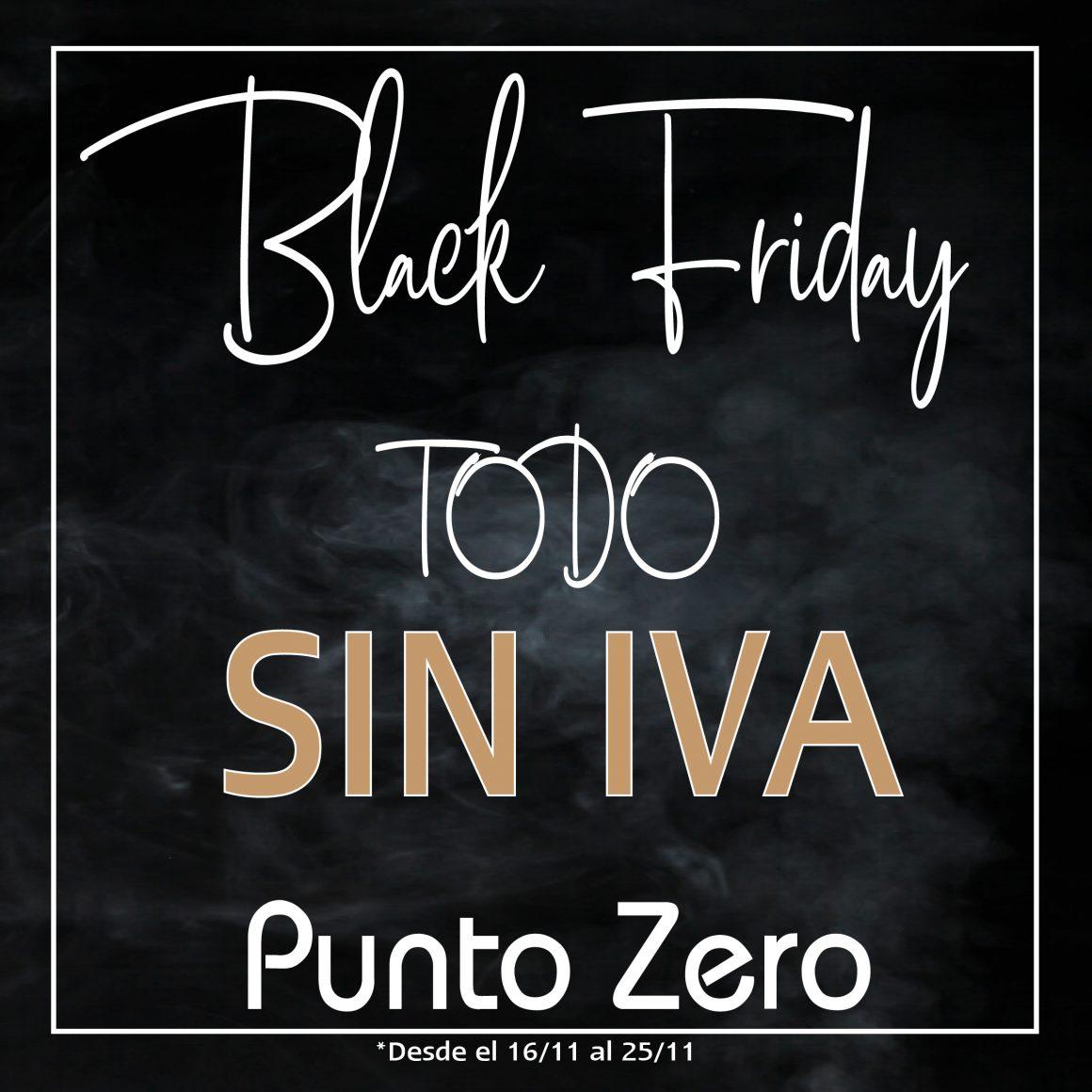 Black Friday en Punto Zero