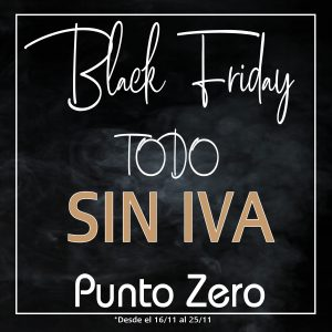 Black Friday en Punto Zero