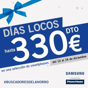 Días locos de Samsung