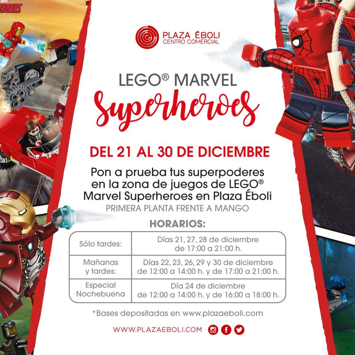 Llegan los Superhéroes de Lego Marvel