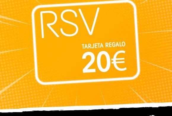 Sorteo tarjetas regalo RSV