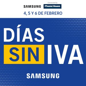 Días Sin IVA en Samsung By Phone House