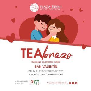 Este San Valentín, TEAbrazo!
