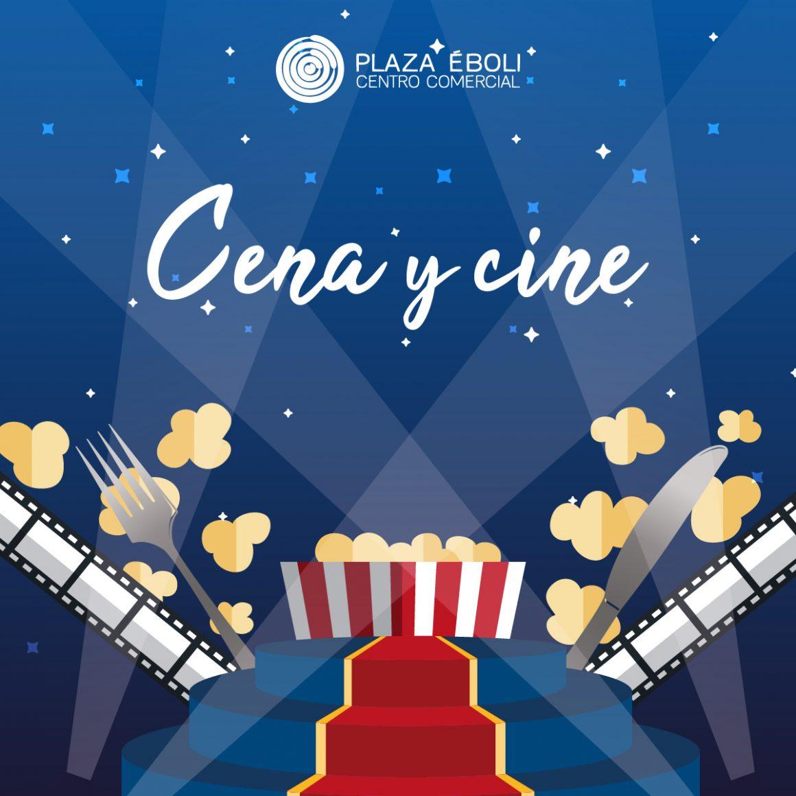 ¡Vuelve Cena y Cine por 10€!