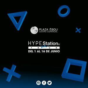 Ven a jugar a nuestra zona HYPE Station®