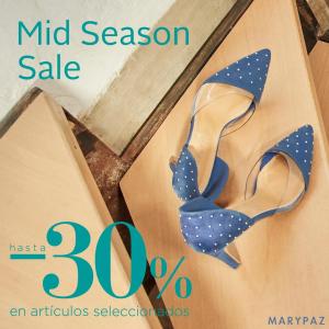 Mid Season Sale en MaryPaz