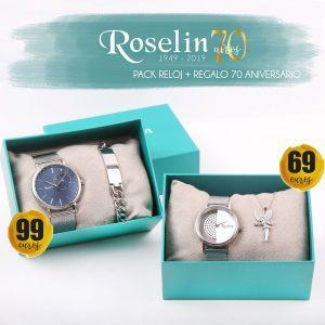 Pack 70 aniversario de Roselín Joyeros