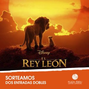 Sorteo entradas El Rey León