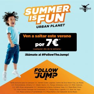 Summer is fun en Urban Planet