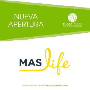 Promoción de bienvenida de Mas Life