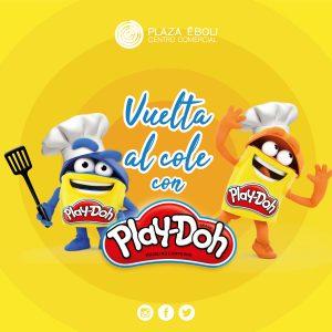 La vuelta al cole con Play-Doh