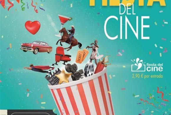 ¡Fiesta del cine, en octubre!