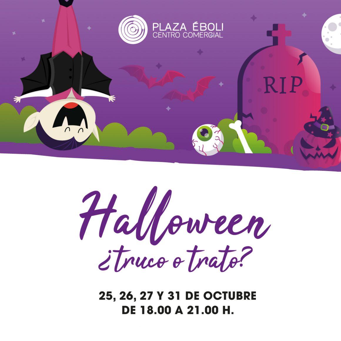 Halloween en Plaza Éboli