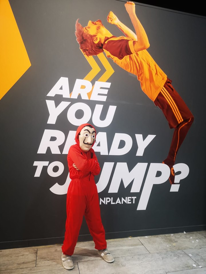 ¿Jump o treat? en Urban Planet