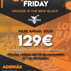 Orange Friday en Urban Planet