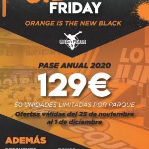Orange Friday en Urban Planet