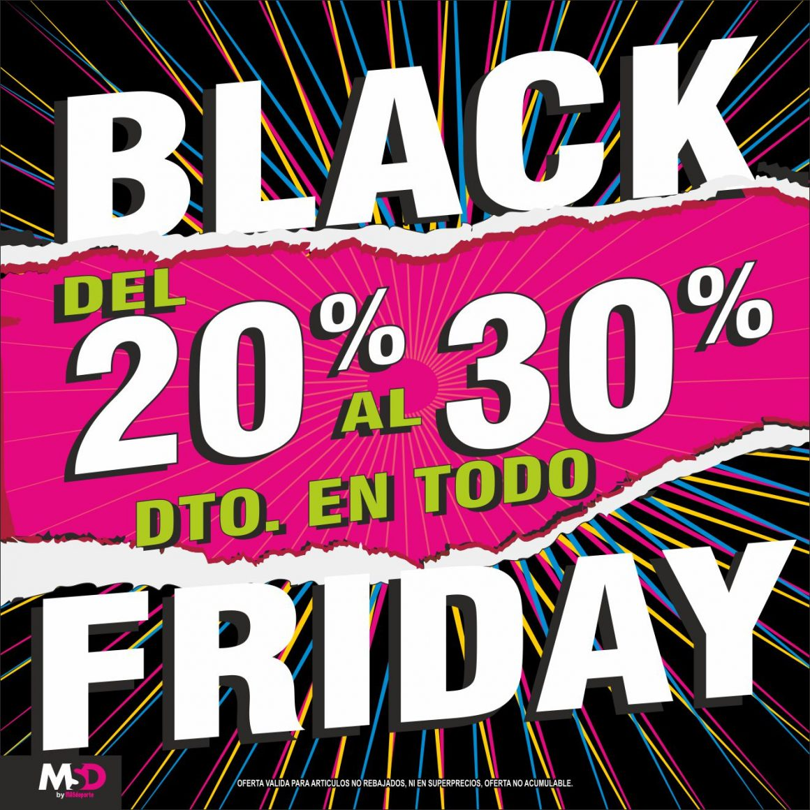 Black Friday en Mas Deporte