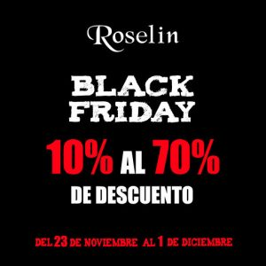 Black Friday en Roselín Joyeros