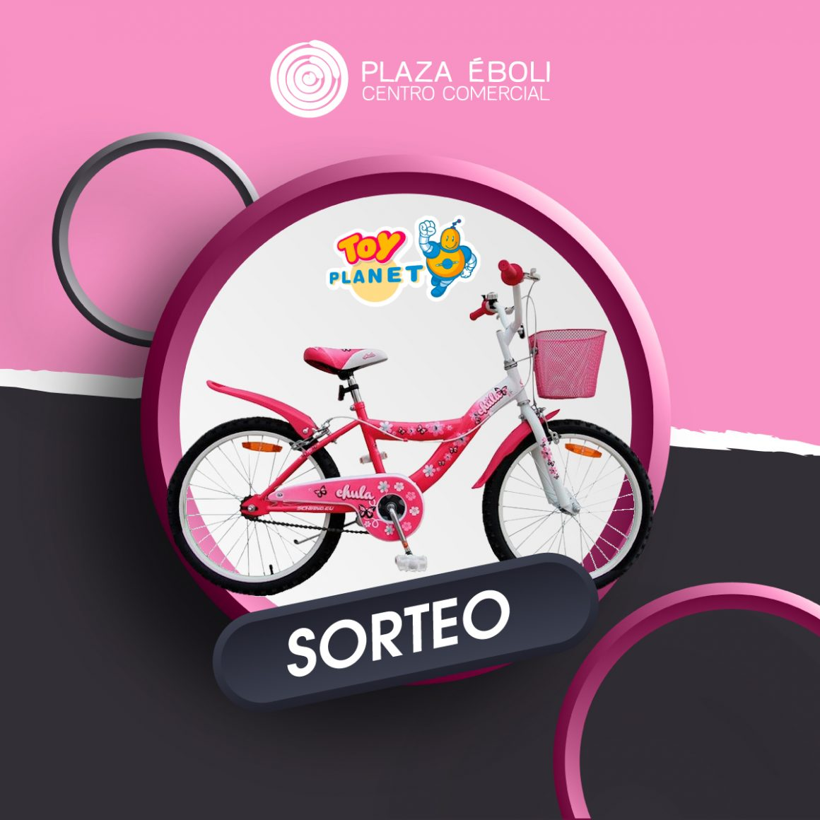 Sorteo bici Toy Planet