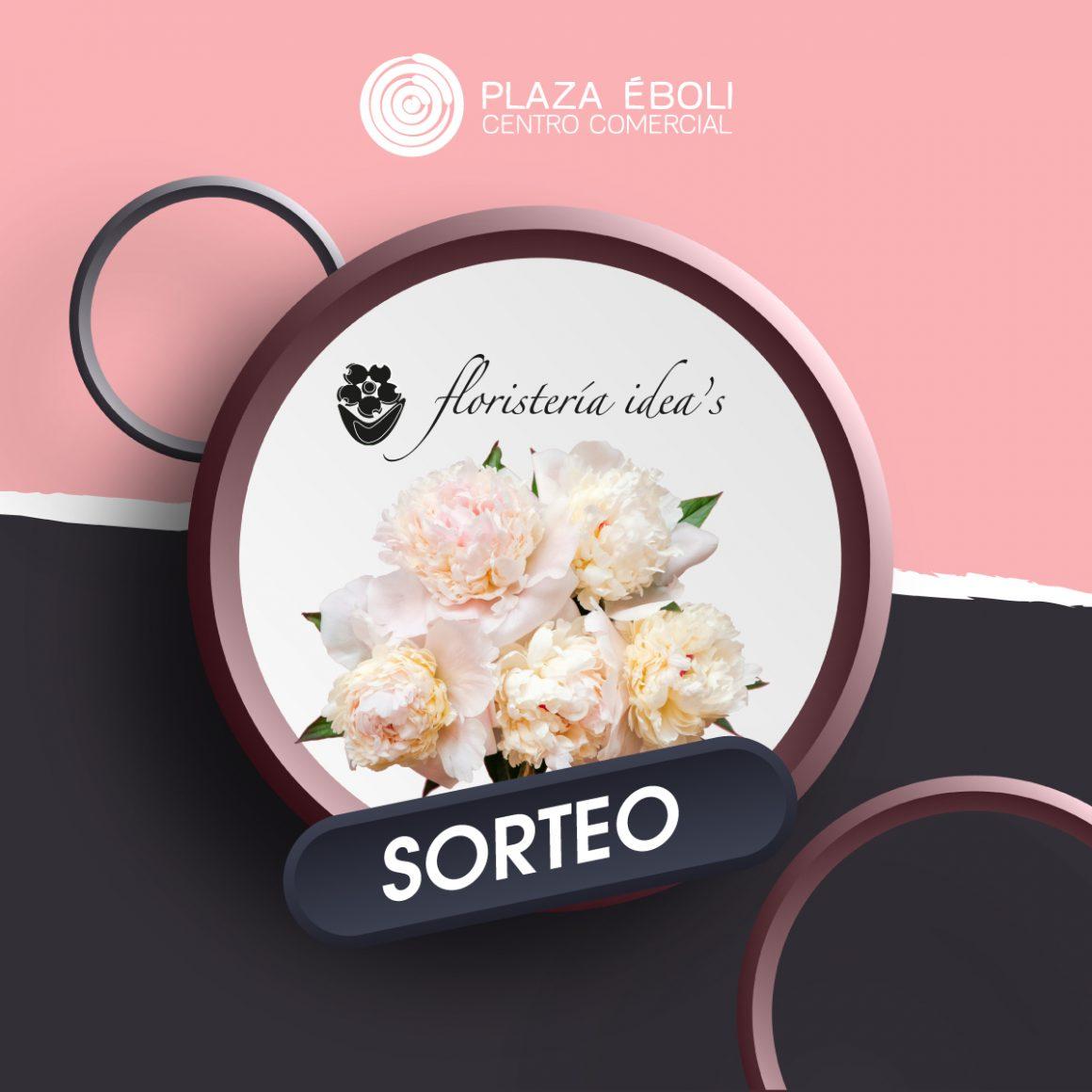 Sorteo ramo flores de Floristería Idea's