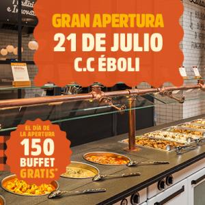 Promoción apertura Muerde La Pasta