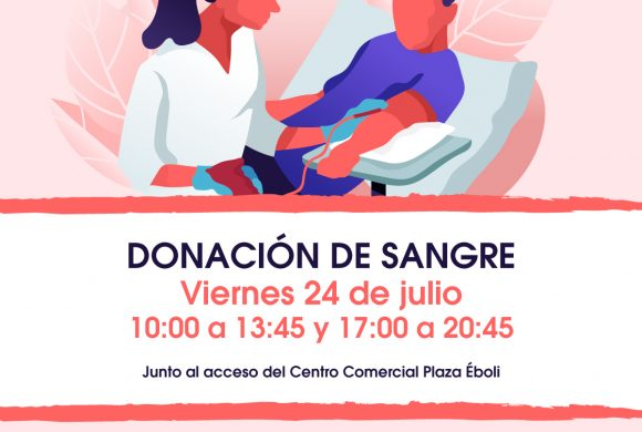 Nueva donación de sangre en Plaza Éboli junto Cruz Roja