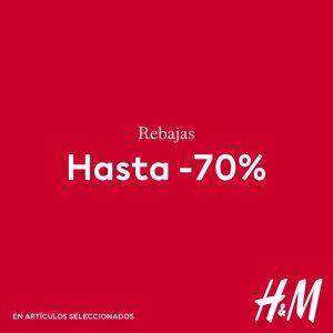 Descuentos del 70% en HM