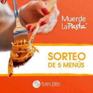 ¡Gana un menú gratis en Muerde La Pasta!