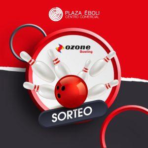 Sorteo 10 partidas Ozone Bowling Pinto