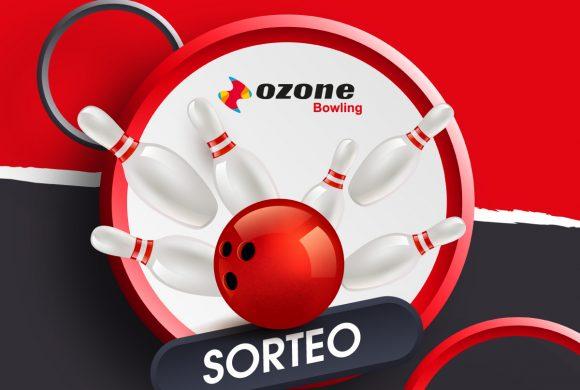 Sorteo 5 partidas Ozone Bowling