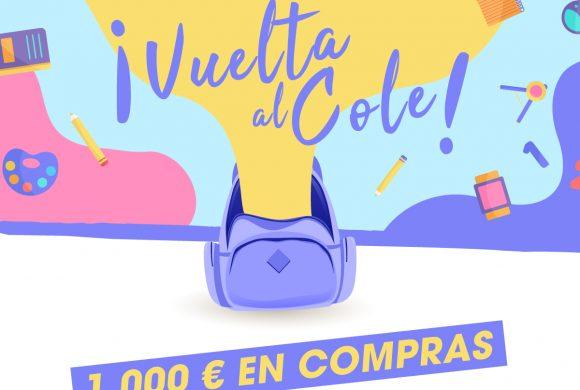 ¡Vuelta al cole! 1.000€ en compras