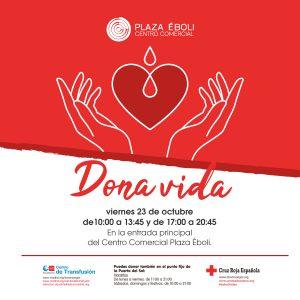 Donación de sangre 23 octubre