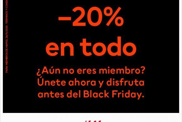 Black Friday se adelanta en HM