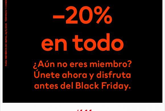 Black Friday se adelanta en HM