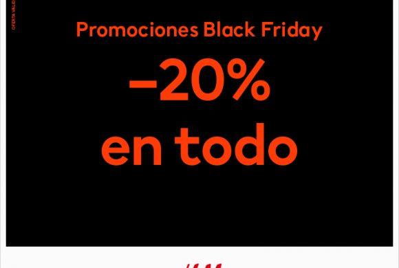 Black Friday en HM con 20% descuento