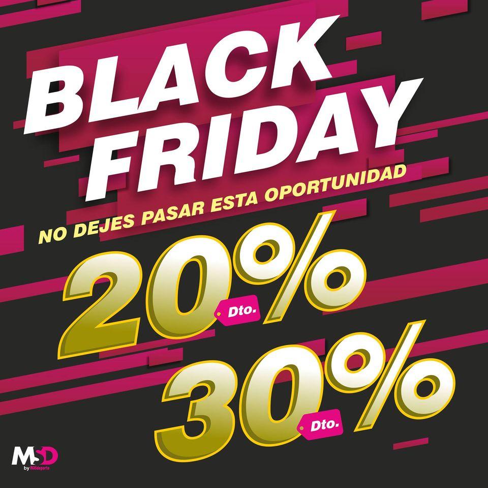 Black Friday en MSDSPORT