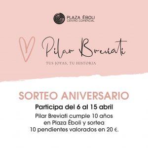 Sorteo aniversario Pilar Breviati