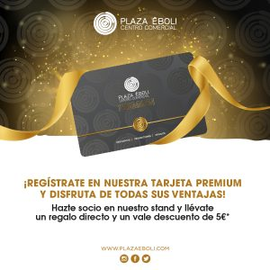 ¡Regístrate en nuestra tarjeta premium!