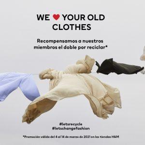 ¡Recicla tu ropa en H&M