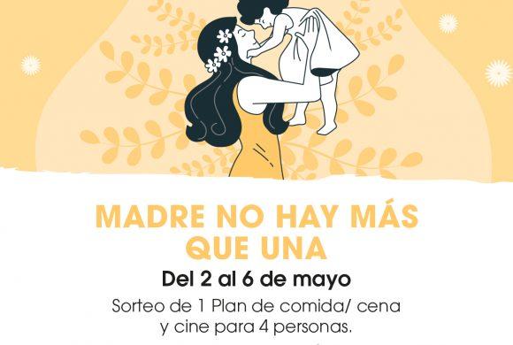 ¡SORTEO DÍA DE LA MADRE!